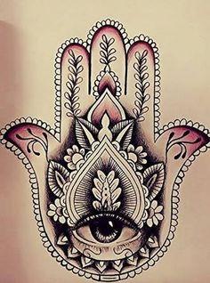 Resultado de imagem para tatuagem hamsa