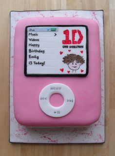 Ipod Cake One Direction,