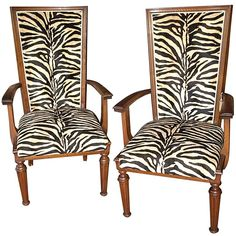 A great pair of Art Deco Style Armchairs in our showroom like in the inspiration photo from Elle Decor!