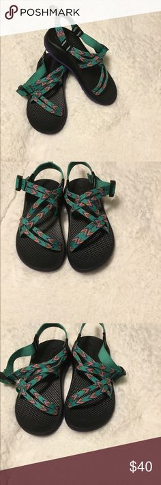 1d9814ec2dad Chaco s ZX 1® Ecotread Basket Weave Pattern Size 3 Chaco Kids ZX 1