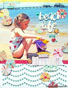 Beach Life by ashleyhorton010675 @2peasinabucket