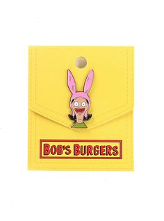Bob's Burgers Louise Belcher Pin,
