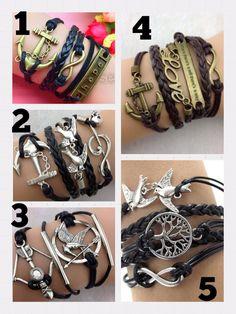 Infinity Bracelets on Locl