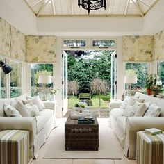 Traditional Sunroom Conservatory Round Up At The Inspired Room Interior Inspiration Pinterest Home Decor Online Tiny Living Rooms And The