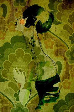 Ekaterina Koroleva #illustration~~~  Really like this...