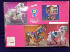 1991 Barbie Rosebud No. 4041 Mattel Vintage Dream Horse for sale online Barbie 1990, Vintage Barbie Dolls, Barbie Horse, Barbie Family, Saddle Blanket, Disney Dolls, Barbie Dream, Palomino, Barbie Clothes
