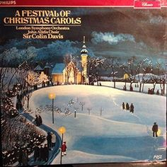 LONDON SYMPHONY ORCHESTRA--A Festival of Christmas Carols- NEW!
