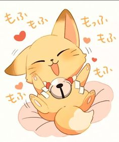 Find images and videos about kawaii, kitsune and gugure! kokkuri-san on We Heart It - the app to get lost in what you love. Anime Chibi, Kawaii Anime, Kawaii Chibi, Cute Chibi, Kawaii Art, Manga Anime, Anime Art, Cute Animal Drawings, Cute Drawings