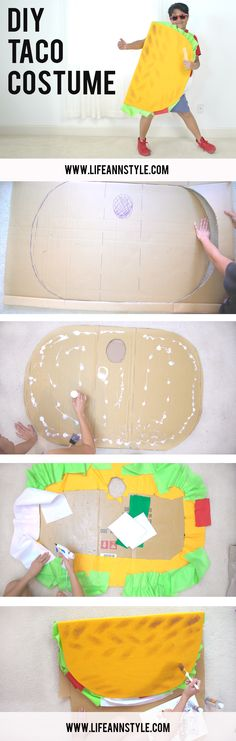 DIY TACO COSTUME / Cute kids Halloween project