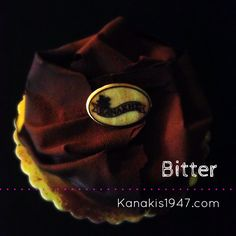 Bitter  For the lovers of bitter chocolate we prepare a fluffy mousse with rich bitter flavor and couverture chocolate moeulleux layers. We cover with chocolate leaves and cocoa for even more enjoyment. In our stores, in cakes or pastries.  http://www.kanakis1947.com/#!kanakisgluka/c21or