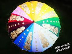 Perfect for photo shoots as a prop.. Hurry up and grab one for yourself.. :) . .  #gotalicious #umbrella  #rainbow #rainbowumbrella #gotawork #trendy #photoshoot #weddings #pakistaniwedding #weddingphotography #photographers #weddingseason #wedmegood #weddinginspiration #handcrafted #followtherainbow #rainbowdazzle #mehendi #shaadi #traditionalwithatwist #ethnicfunk #sangeet #decor #photography #quirky  #neon #instafav #heartit #madewithlove #colours #evedeso #eventdesignsource - posted by…