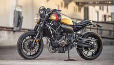 "8negro: Yamaha XSR700 ""The Kraken"":: MACCO MOTORS."