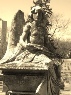 Archangel Michael - Holy Sepulchre Cemetery -  Celestial Reflections Photography
