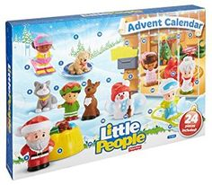 If you have a little one.... then this is for you! Little People Advent Calendar! I'm dying!
