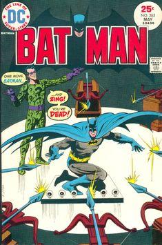 Batman #263, May 1975, cover by Dick Giordano and Tatjana Wood