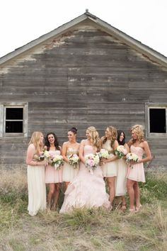 Blush pink Montana wedding: http://www.stylemepretty.com/montana-weddings/2014/06/13/blush-pink-montana-wedding/ | Photography: http://www.cindycieluch.com/
