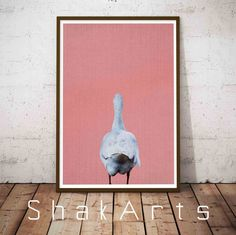 Duck Nursery Print Nursery Wall Art Set Animal Farm by ShakArts