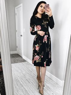 Modest Dresses, Modest Outfits, Classy Outfits, Pretty Outfits, Beautiful Outfits, Cute Dresses, Casual Dresses, Black Dress Outfits, Summer Dress Outfits