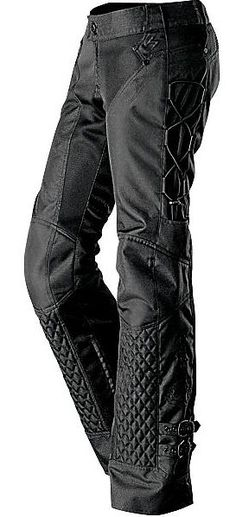 Womens Motorcycle Pant Savannah in black