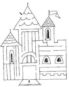 LABERINTO DEL CASTILLO | juegos infantiles educativos