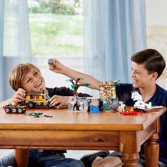 Lego : City Le site d'exploration de la ju - Castello   Jeux et Jouets