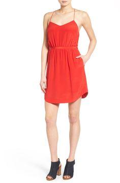 Madewell Silk Blouson Dress