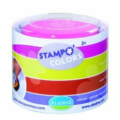 Aladine Stampominos, Festival Colored Extra Large Stamp Pads, Set of 4 by Aladine. $15.24. Set includes 4 extra large ink pads for all of your stamping needs. ink is 100% washable and non-toxic. All Sets come in a transparent, plastic container which is perfect for storage. From the Manufacturer                This set of four over sized stamp pads from Aladine, will be an excellent addition to any stamp sets you may have. The Festival Set of stamp pads includes one of ...