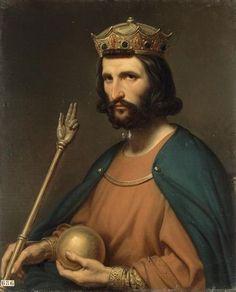 Hugo Capeto, duque de los francos, después rey de los francos, fue el primer soberano de la casa de los capetos.