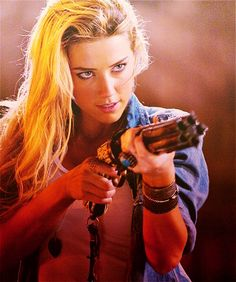 AMBER HEARD she is badass in this movie