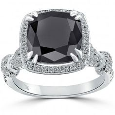 Black Diamond Engagement Rings | Liori Diamonds