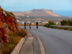 cyclingholiday on Crete Crete, Country Roads