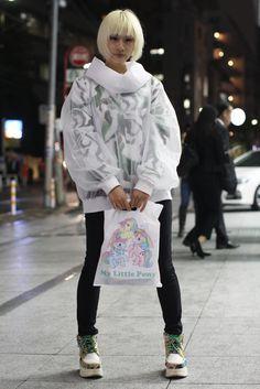 Street Style, Spring Summer 2016, Tokyo Fashion Week, Japan – 16 Oct 2015