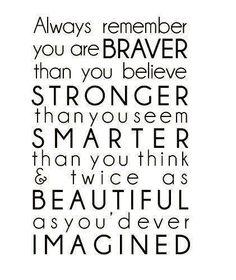 Braver Stronger Smarter Beautiful