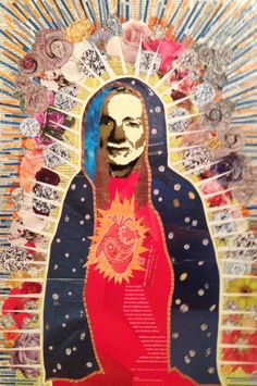 Willie de Guadalupe III -- 24 x 16.5in -- Mixed Media on Board -- CONTACT: blacksheepranchatx@gmail.com