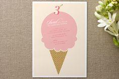 Sweet birthday Children's Birthday Party Invitations by Mandy Gordon at minted.com
