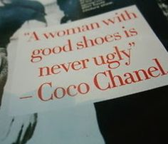 It's always about the shoes!