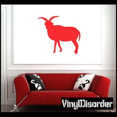 Sheep Wall Decal - Vinyl Decal - Car Decal - NS011