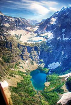 Grinnell Lake, Glacier National Park, Montana