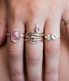 Gorgeous rings. Wow.