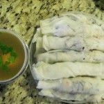 Fawm Kauv (Steamed Rice Rolls)