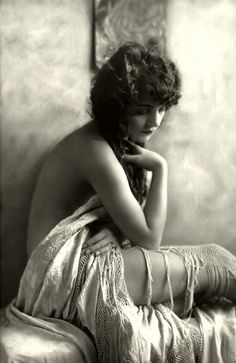 Ziegfeld Follies Girl-very timeless pose lit by window light that can be used today