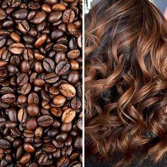 Balaiagem Café: Coffe Hair - 30 Cabelos Para Você Copiar #naturalcurlyhair