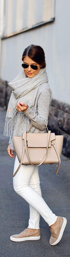 Cool tones of early autumn Fashion By Mari Annan • Street CHIC • ❤️ Babz ✿ιиѕριяαтισи❀ #abbigliamento