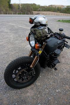 Post-Apocalypse GoldWing http://goodhal.blogspot.com/2013/03/post-apoc-goldwing.html #GL1100 #GoldWing #Honda #Motorcycle