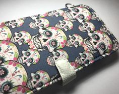 iPhone 8 case Sugar Skull iPhone X case iPhone 8 case iPhone 8 plus phone wallet case by superpowerscases. Explore more products on http://superpowerscases.etsy.com