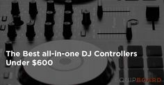 The world of DJ controllers can be tricky to navigate. Say for example that you wanted to learn guitar - you would figure out your budget and pick a guitar. Any guitar at all would do the trick. Picking out a DJ controller is quite a bit more complicated,