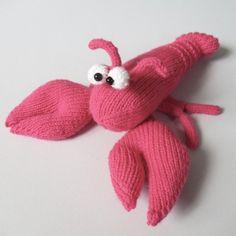 Larry the Lobster by Amanda Berry - LoveKnitting