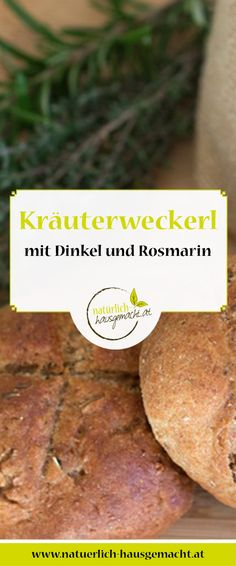 Aromatische Kräuter, wie Rosmarin oder Oregano, schmecken herrlich im selbst gemachten Brot! Sweet Potato, Potatoes, Vegetables, Home Made, Bread, Easy Meals, Potato, Veggie Food, Vegetable Recipes