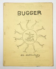 Bugger: An Anthology of Anal Erotic, Pound Cake Cornhole, Arse-Freak, & Dreck Poems by Ed Sanders, ed on Division Leap John Key, Allen Ginsberg, Cornhole, Pound Cake, Erotic, Poems, Reading, Division, Role Models
