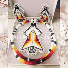 Powwow Beadwork, Native Beadwork, Native American Beadwork, Pow Wow, Beaded Moccasins, Beadwork Designs, Native American Crafts, Native Design, Nativity Crafts